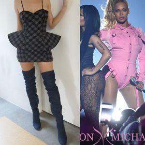 Beyonce designer Ashton Michael hounstooth dress s